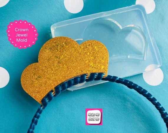Scallop Silicone Headband Crown Jewel Mold ™  GM112
