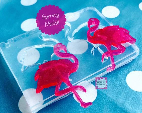XL Flamingo Earring Mold EM20