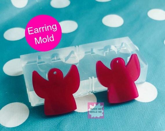 Angel Dangle Earring Mold EM47