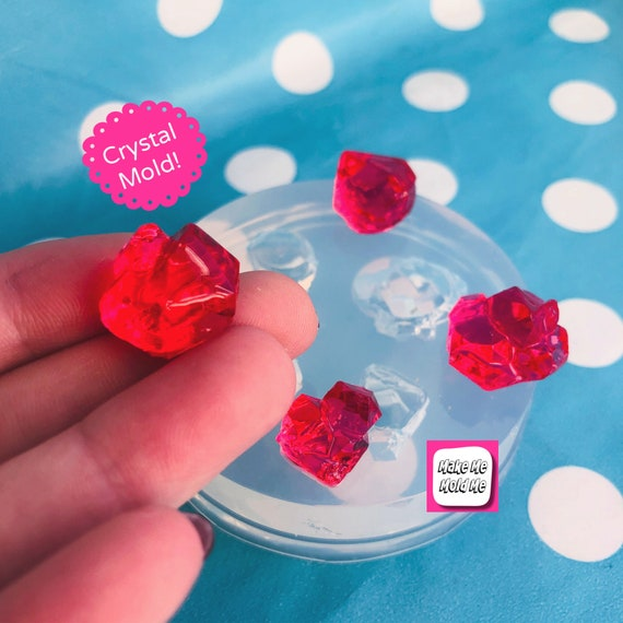 15mm Crystal Mold Pendant Silicone Mold  GM102