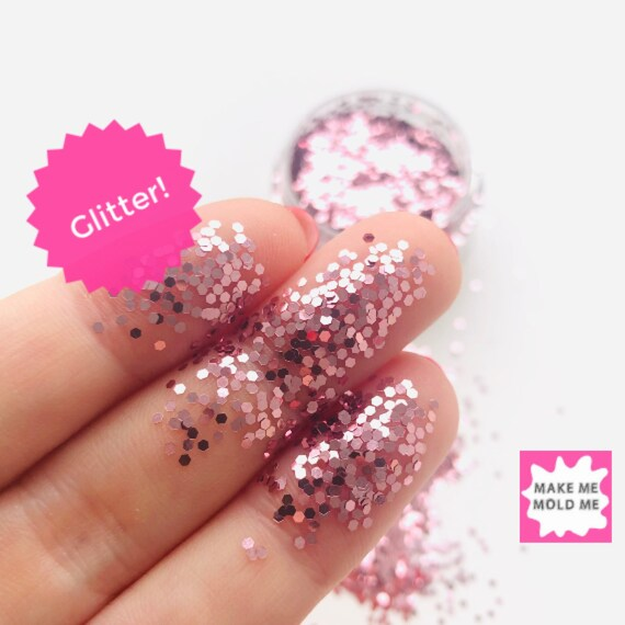 Chunky Blush Rose Gold Glitter MM55