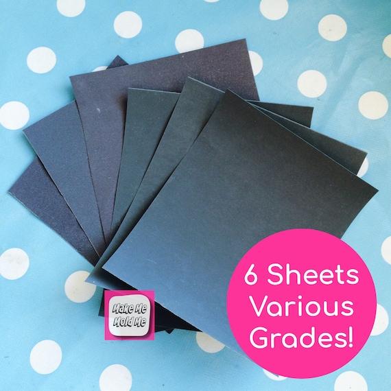 Resin Kit Wet Dry Sanding Paper all Grades MM63