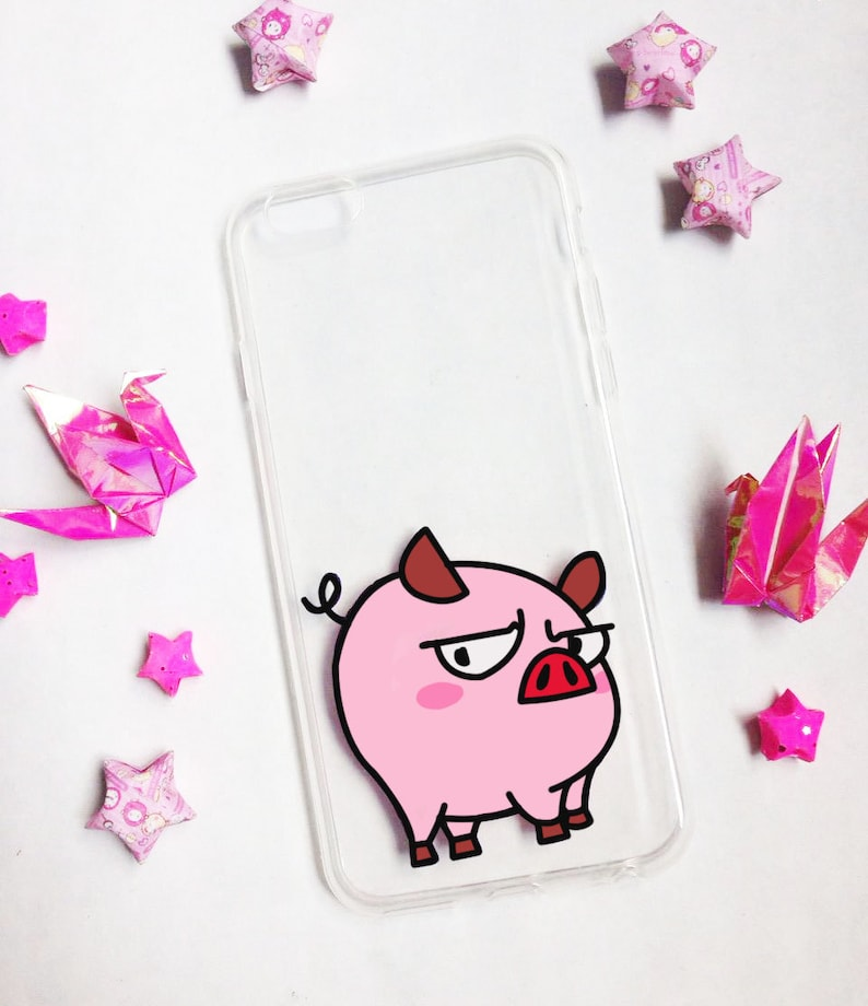factory authentic dceb7 eaf1d Hand painted Pig phone cases, iPhone 7 Plus case, iPhone 8 case, iPhone X  Case, S8 Plus Phone Case, Note 8 Phone Case , Cute Phone Case