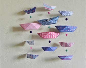"""Mobile """"boats"""" for baby nursery"""