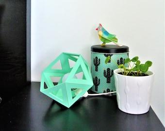 Small light green / Mint blue