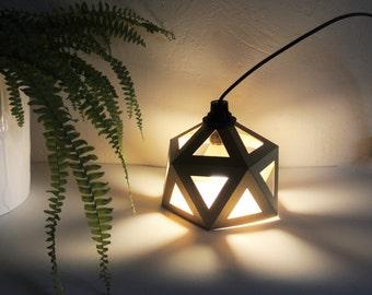 Lamp Origami gold gilt
