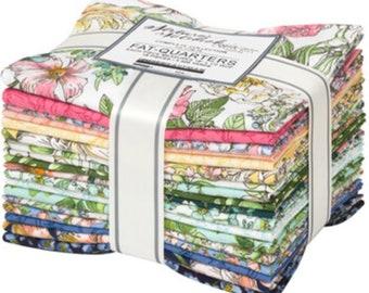 "FREE SHIPPING ""Nature Notebook"" New Release Fat Quarter Bundle by Briar Hill Robert Kaufman Fabric 18 Fat Quarters Nature Notebook"