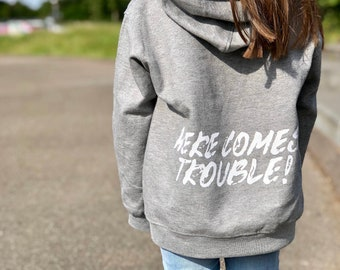 TEEPOMY I/'m A Big Sister to Save Time let/'t Just Assume Unisex Hoodie