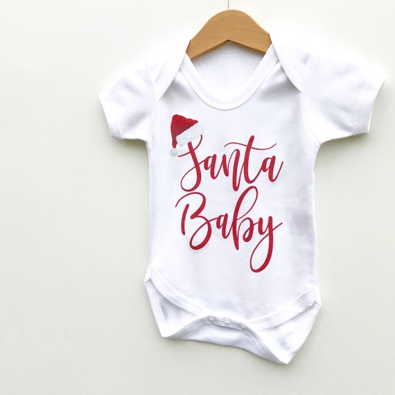 Who Needs Santa I/'ve Got Grandad Baby Vests Bodysuit Soft Cotton Cute Present