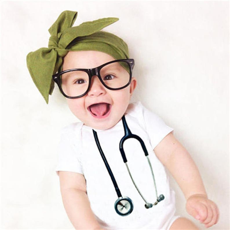 206750a957c Stethoscope Baby Bodysuit Funny Baby Clothes Baby Nurse