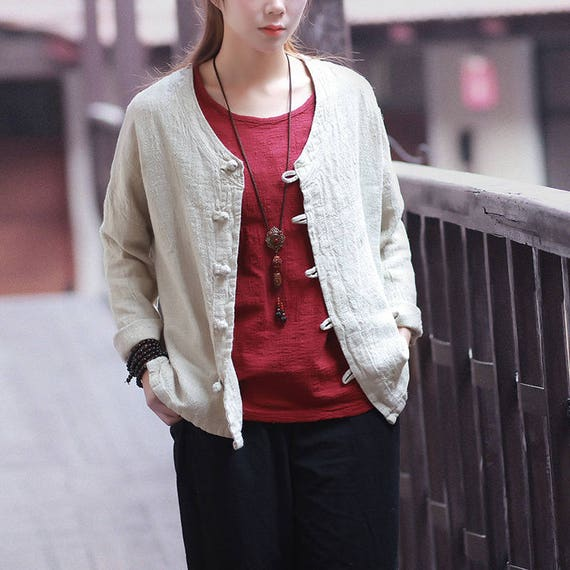 Cotton Linen Jackets for Boys and Girls