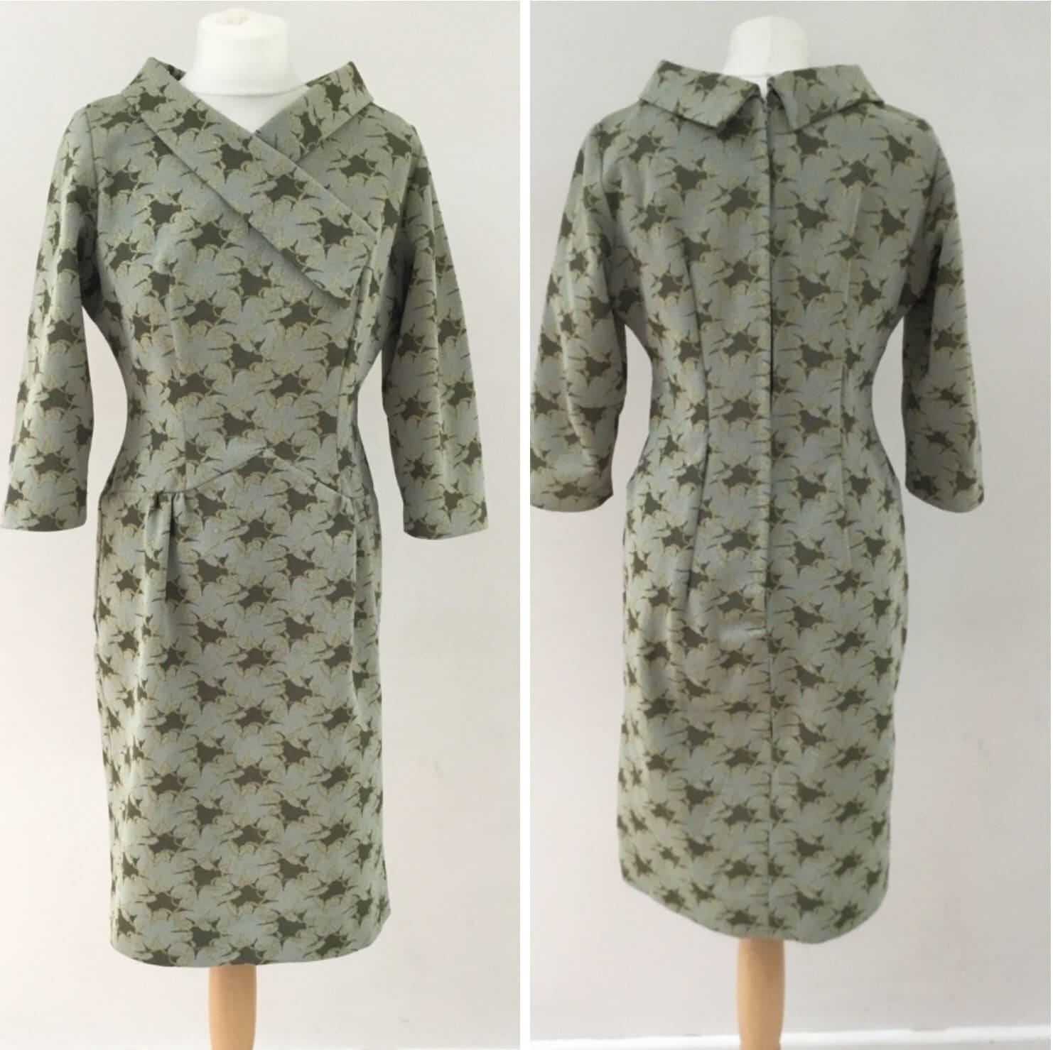 1960s crimplene day dress