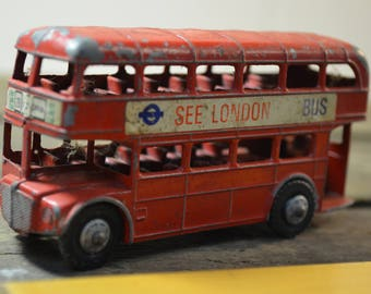 See London Double Decker Red Diecast Bus