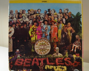 Sgt. Pepper's Lonely Hearts Club Band Album The Beatles