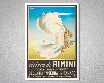 Rimini poster | Etsy
