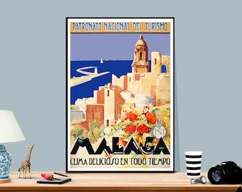 Vintage Old Transport Poster LeHavre Trans Atlantic Print Art A4 A3 A2 A1