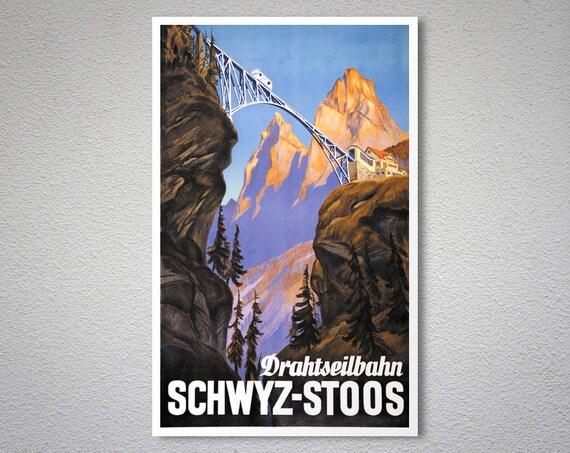 Stoos Vintage Poster