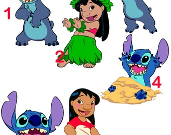 Lilo and Stitch Wall Decals