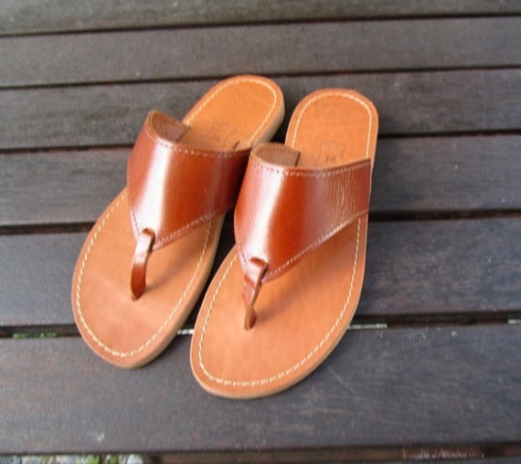 Made Leather Hand Hand Greek Sandal Made hrsQtdCx