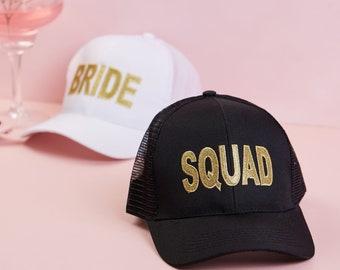 aab6f2b4 Hen Party Baseball Cap, Squad Cap, Hen Party Cap, squad baseball cap, bride  squad, bride tribe, team bride,black squad cap, team hen,sale