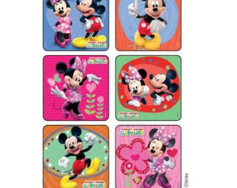 20 Disney Mickey Mouse Favorite Poses  Stickers Party Favors Teacher Supply