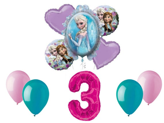 Onward 5 pc Balloon Bouquet 2nd Birthday Party Supplies Decorations Favors