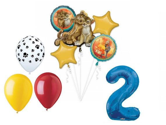 """Blue Number 2 34/"""" Balloon Birthday Party Decorations 2nd #2"""