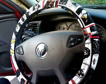Wonder Woman Steering Wheel Cover