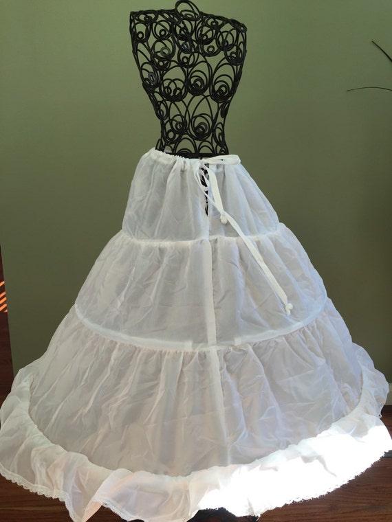a9721b91bd9 Crinoline jupon pour fleur robe Pageant pour fille robe de