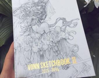 Vonn Sketchbook 2 | 2015 - 2016