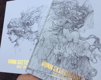 Both Vonn Sketchbooks | 2013-2016