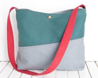 Casual Bag Mini Boho Backpack Bucket shoulder bag Small Bucket Style Convertible Backpack Mini Vegan leather Bucket Bag in Navy Color