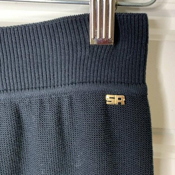 Sonia Rykiel Paris Wide Leg Knit Lounge Pants Siz… - image 8
