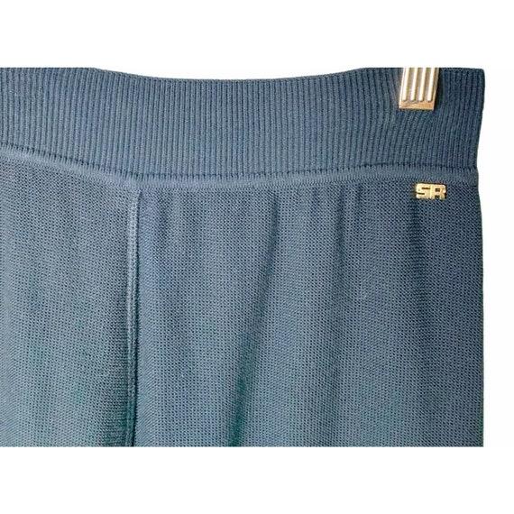 Sonia Rykiel Paris Wide Leg Knit Lounge Pants Siz… - image 2