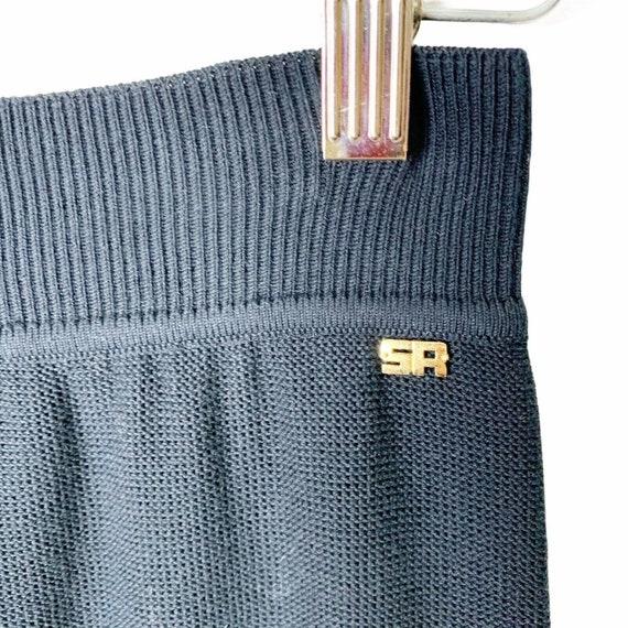 Sonia Rykiel Paris Wide Leg Knit Lounge Pants Siz… - image 3