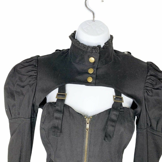 Spin Doctor Corset Cosplay Steampunk Black Lace U… - image 5
