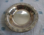 Items Similar To Vintage Reed And Barton Classic Rose Design Silver