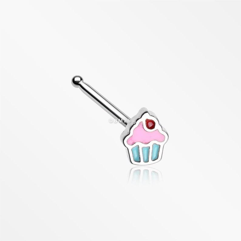Sweet Lil Cupcake Nose Stud Ring