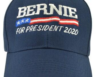 a86e1e0b59da6 Bernie Sanders for President 2020 Blue hat  red