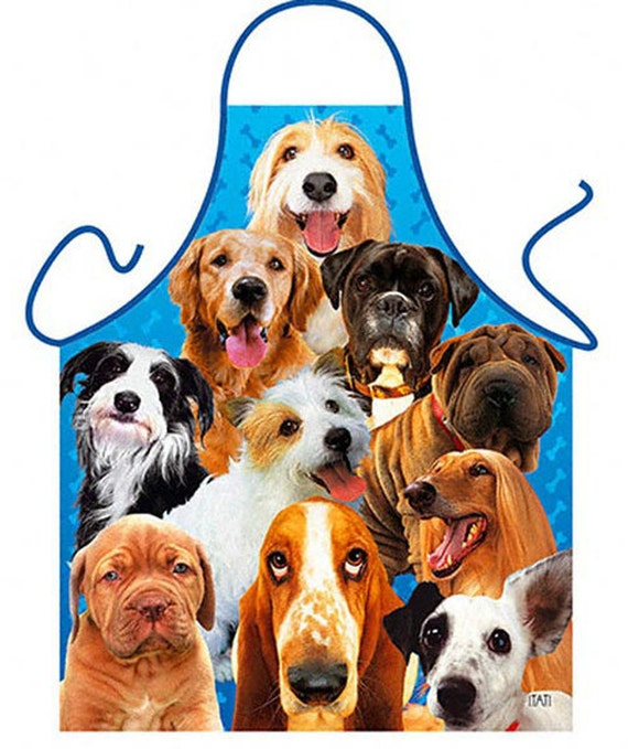 This Guy Loves His Labradoodle BBQ Dog Cooking Funny Novelty Apron