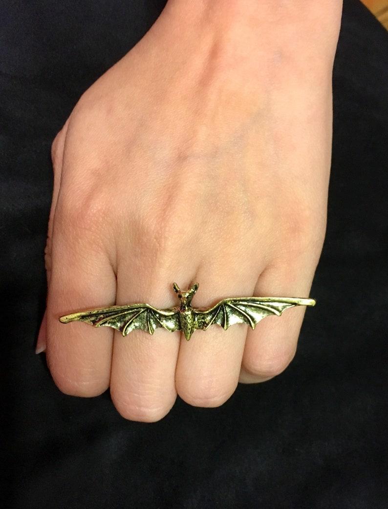 Bat Adjustable Double Ring