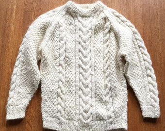 08a087e62457af Vintage Aran Sweater Heavy