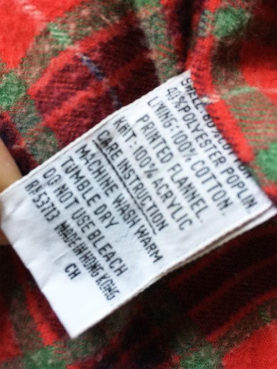 1970s Tan Poplin Jacket Cotton Flannel Lining Mint - image 7