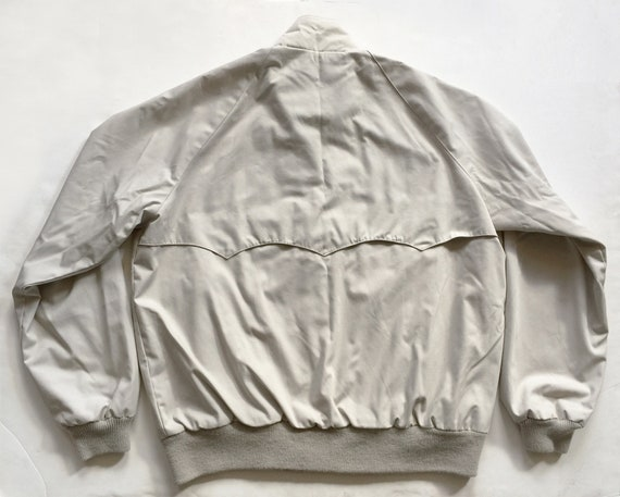 1970s Tan Poplin Jacket Cotton Flannel Lining Mint - image 2
