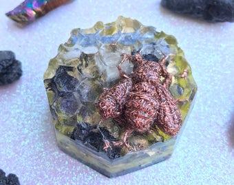 Orgone Bee Honeycomb EMF Protection