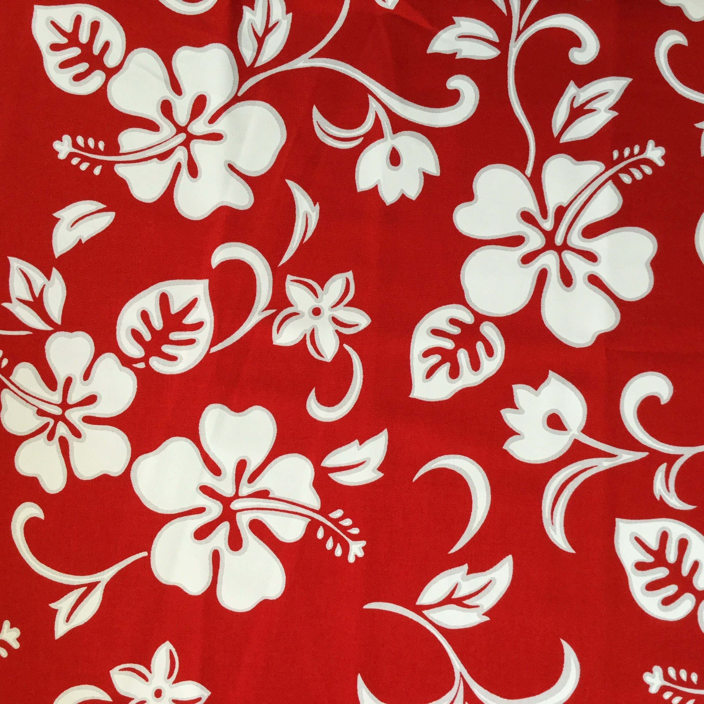 Free Shipping 5pcs 18x30 Red White Hawaii Flower Etsy