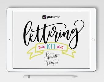 Procreate Lettering Kit