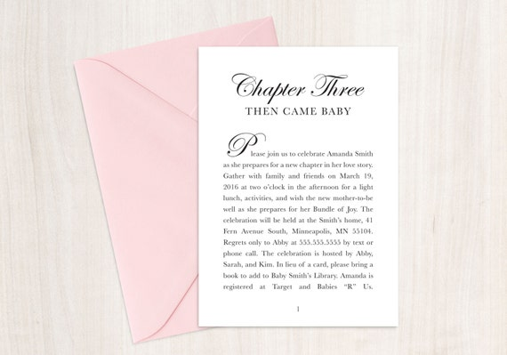 Fairytale baby shower invitation book theme shower story etsy image 0 filmwisefo