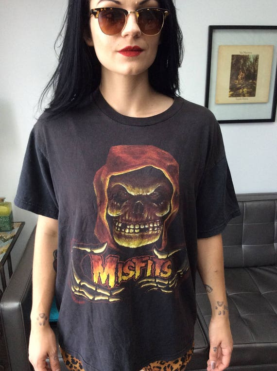 The Misfits Vintage Skeleton Hands Tee