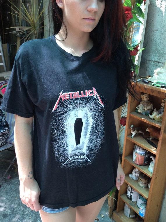 Metallica Tour T Shirt Death Magnetic